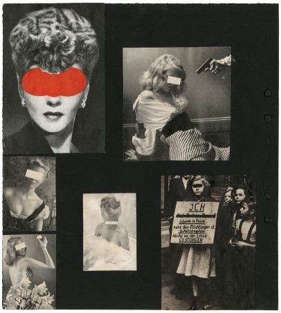 Chris Marker, Album de collages, circa années 1950
